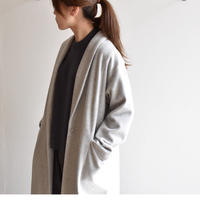 evam eva / wool wide coat e193t131