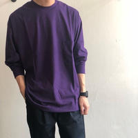 unfil / cotton flannel jersey long sleeve Tee onfl-um215