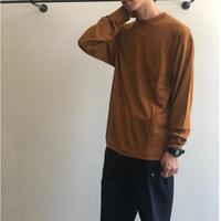 unfil(アンフィル) / ウールジャージー ロングスリーブTシャツ   onfl-um208