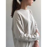 RINEN / オーガニック裏毛クルーネックTシャツ(LADIES)  R10003