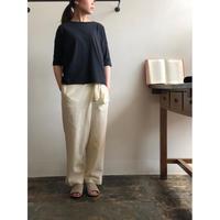 evam eva/cut&sew pullover
