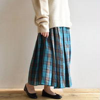 R&D.M.Co- / DOUGLAS TARTAN GATHER SKIRT 3802