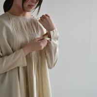 evam eva / fine pleats pullover /E201T073