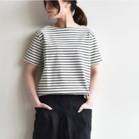 (bn-20sl-025)BATONER(バトナ―) バスク半袖Tシャツ