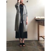 evam eva garment dyeing linen robe