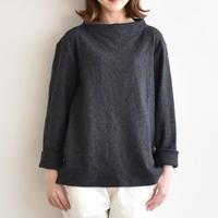 nisica / ガンジーネックウールカットソー nis-870-wool