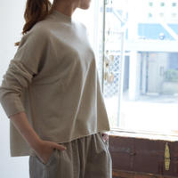 evam eva / wool cashmere wide PO E193K032
