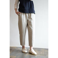 evam eva / cotton paper cropped pants  E193T026
