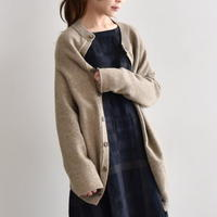 Vlas Blomme / Wool Linen コクーンカーディガン 11314891