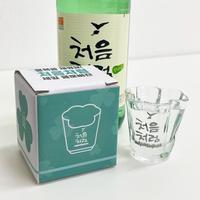 「チョウムチョロム」♧型グラス