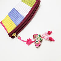 韓国伝統色の小銭入れ