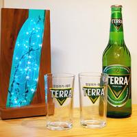 韓国ビール「TERRAグラス」