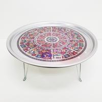 韓国製アルミテーブル 50cm(約2~3人用)