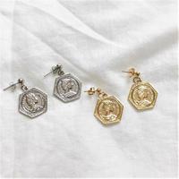[Hand made]Coin Earrings