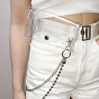 Clear Belt Bag
