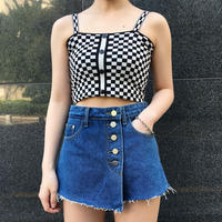 Checker Camisole