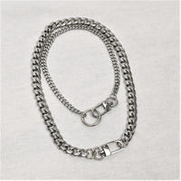 予約注文受付11/26-12/22[Hand made]Surgical Double Ring Necklace