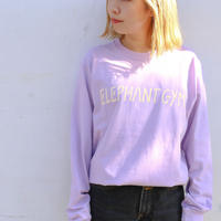 Elephant Gym Long-Sleeve T 2021 (Light Purple)