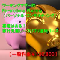 【※一般料金】【Fin-motional Planning パーソナル・コンサルティング】家計見直し~ゴリゴリ運用までのコース