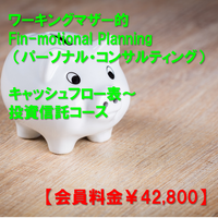 【※会員料金】【Fin-motional Planning パーソナル・コンサルティング】キャッシュフロー表~投資信託編までのコース