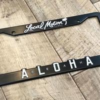 【Local Motion ナンバーフレーム ALOHA 2】