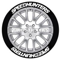 【SPEEDHUNTERS タイヤステッカー 4枚セット】