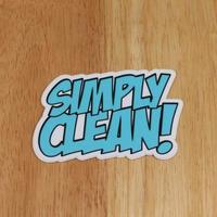 【Simply Clean ステッカー Comic】