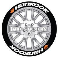 【Hankook タイヤステッカー 4枚セット】