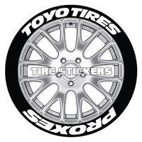 【Toyo Tires PROXES タイヤステッカー ラバータイプ(Permanent)】