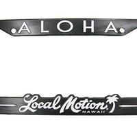 【Local Motion ナンバーフレーム ALOHA】
