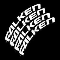 4枚【Falken タイヤステッカー】