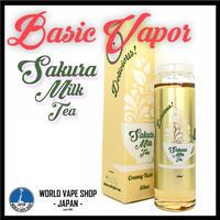 Basic Vapor 【 Sakura Milk Tea 60ml 】 電子タバコ VAPE_ ベイプ 電子たばこ 電子煙草