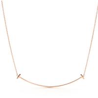 Tiffany Tスマイルペンダント ラージ  18kゴールド
