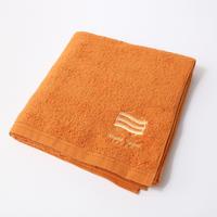 「ふわふわのスポーツタオル」(オレンジ・バスタオルサイズ/特別注文)