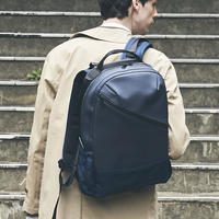 【HUNT】Slanting Backpack/NAVY(VBOM-4636)