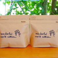 定期便毎月お届け New Enjoy Coffee Style①粉ペーパーフィルター用『コース①3000円』 250g×2袋1800円=3600円の商品