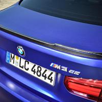 BMW純正部品 M3CSモデル用M SPORTS カーボンリアスポイラー