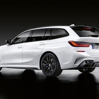 BMW純正G21 3シリーズ ツーリング用///M PERFORMANCEリアスポイラー