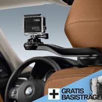 BMW純正部品 TRAVEL & COMFORT SYSTEM ベースサポート+GoPro Camera ホルダーセット