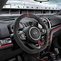 BMW MINI JCW JOHN COOPER WORKS アルカンタラ カーボン ステアリングホイール パドルシフト装着車用