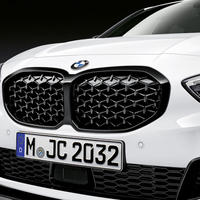 BMW純正部品 M PERFORMANCE F40 1シリーズ用ブラックキドニーグリル  メッシュタイプ