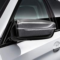 BMW純正部品 M PERFORMANCE F90 M5用 カーボンドアミラーカバー 取付作業説明書同梱