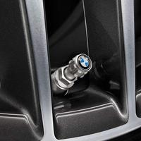 BMW純正部品 アルミ バルブキャップ BMWロゴタイプ