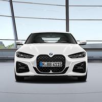 BMW純正部品 G22 4シリーズ用Individualハイグロスブラックグリル
