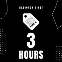 3時間利用チケット