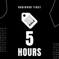5時間利用チケット