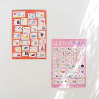 ABC Chart & Bopomofo Poster / お得な言語ポスターセット