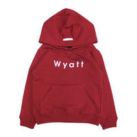 【WYATT / ワイアット】BASIC LOGO HOODIE