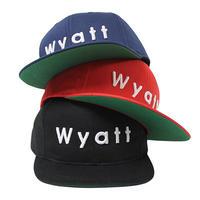 【WYATT / ワイアット】BASIC LOGO SNAPBACK CAP