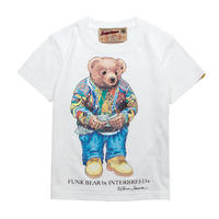 "【 INTERBREED / インターブリード 】BEAR ""Biggie"" KIDS Tee"